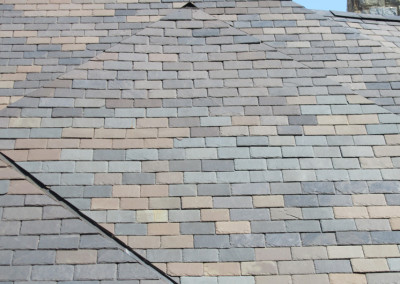 Historic Vermont Blend Slate Roof