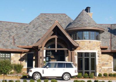 Graduated Slate Roof on Large Residence