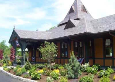Slate Roof for Historical Renovation of Train Station
