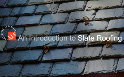 AIA / CES Online Course: An Introduction to Slate Roofing (LU / HSW)