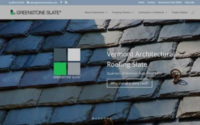 Announcing the brand new Greenstone Slate website