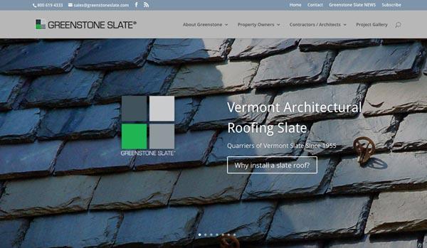 Announcing the brand new Greenstone Slate website