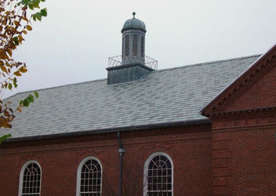 Greenstone Slate with Nu-lok™ lightweight slate installation – The Hotchkiss School