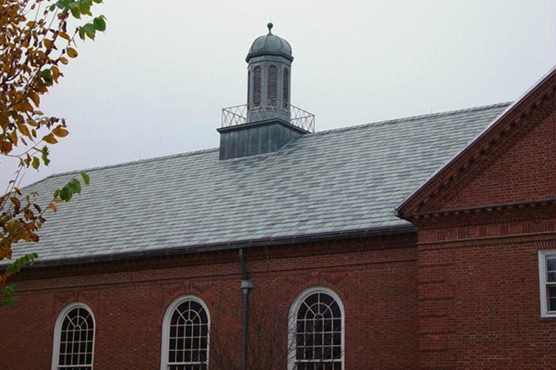 The Hotchkiss School Slate Roof