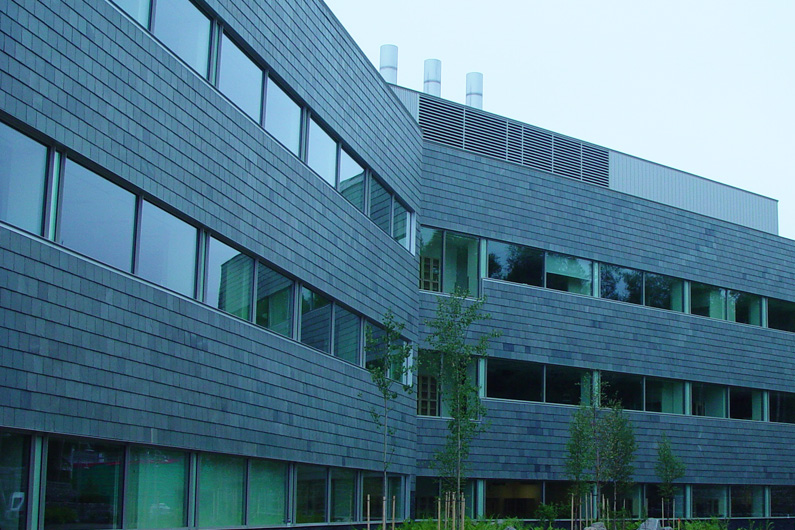 Slate used as Cladding on the University of Alaska Science Building