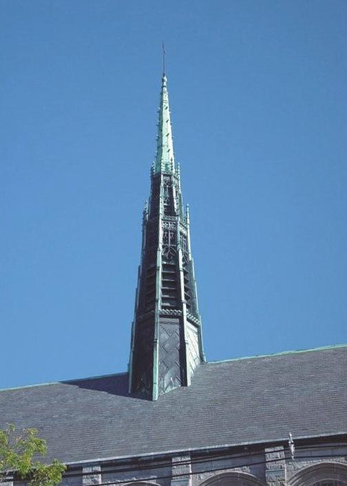 Franco Center slate roof
