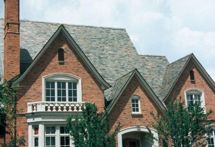 Brick Amp Slate Vermont Slate Roofs Greenstone Slate Company