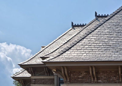 Grand Residence with Vermont Gray / Black Slate Roof
