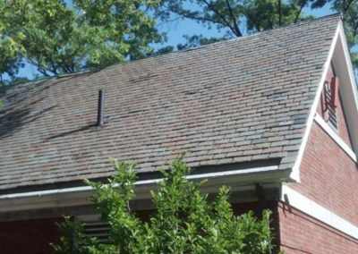 Semi-weathering Clear Gray Slate Roof