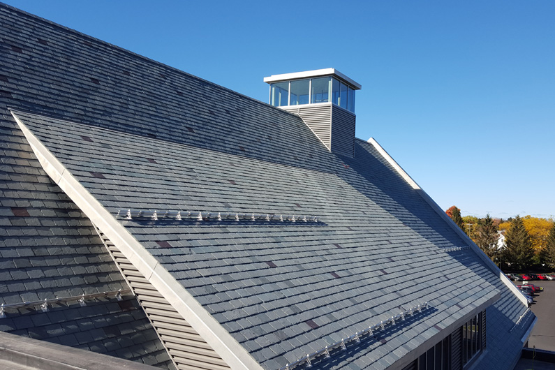 Hobart and William Smith Colleges Performing Arts Center slate roof