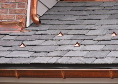 Slate Roof Installation With SlateTec Roofing System