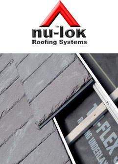 Nu-lok reduced weight roof installation