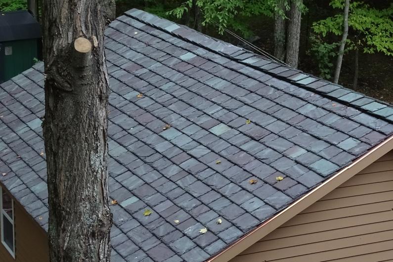 Slate roof - heavy grade slate