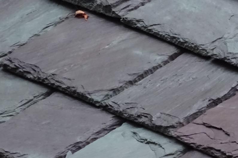 Slate roof - Heavy Grade Slate was used.
