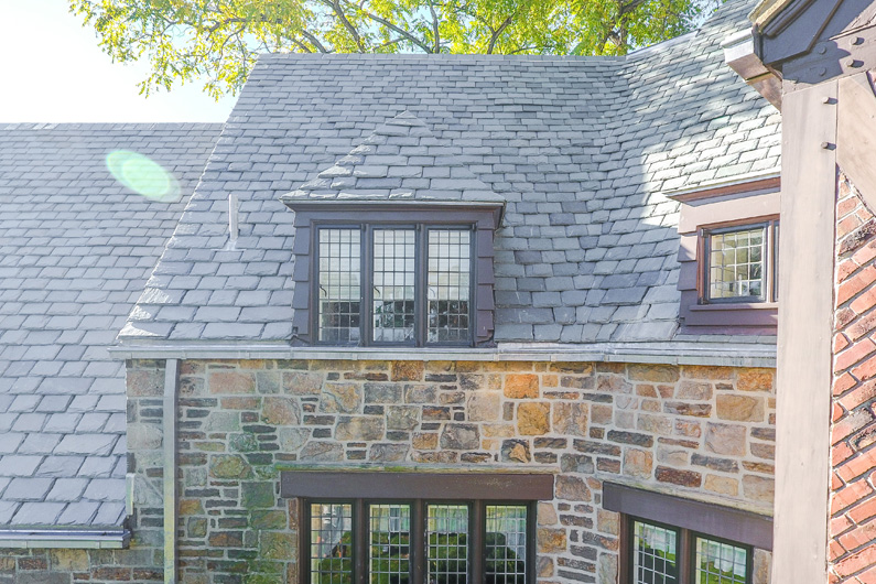 Vermont slate installed on grand pennsylvania conference for Vermont slate colors