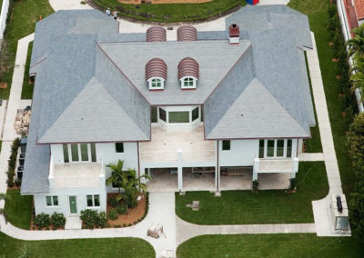 Slate Roof on Florida Home and Pool House