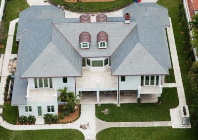 Slate Roof on Florida Home and Pool House