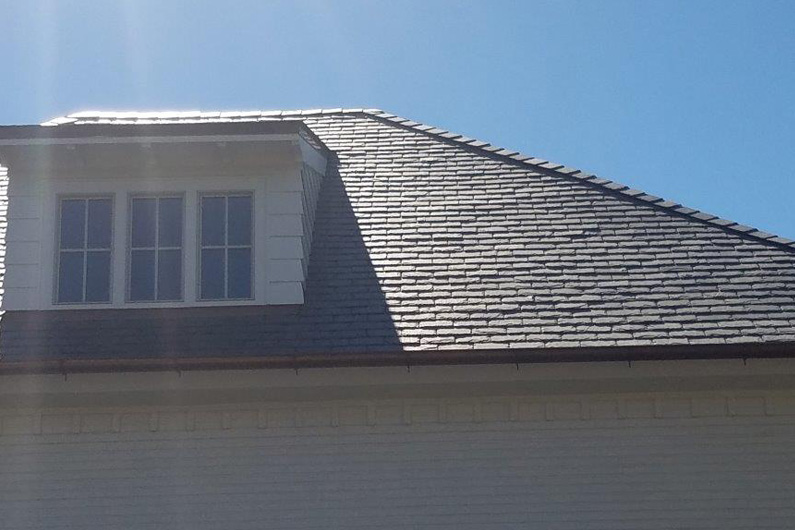 Slate roofs for Florida residence