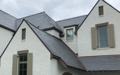 Project Profile: Greenstone Slate® Unfading Spanish Black slate roof for Georgia residence