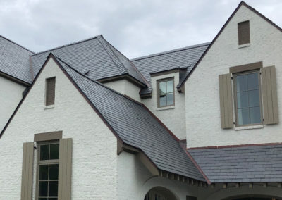 Greenstone Slate® Unfading Spanish Black slate roof for Georgia residence