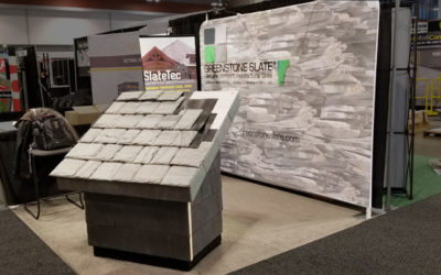 Greenstone Slate exhibits at International Roofing Expo and International Builder's Show