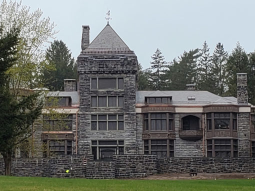 Greenstone Vermont slate adorns roof of national historic landmark