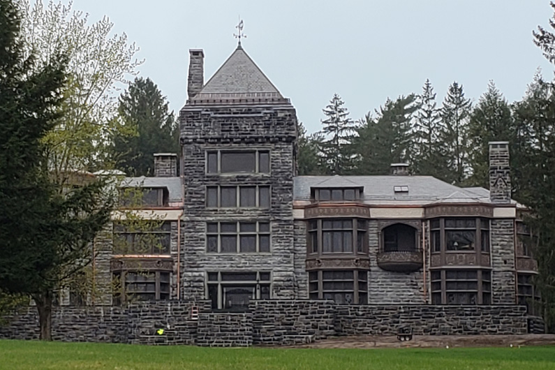 Project Profile: Greenstone Vermont slate adorns roof of national historic landmark